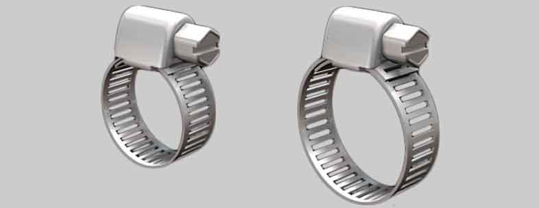 Hose Clamps Fasteners Suppliers, Manufacturers, Dealers and Exporters in India